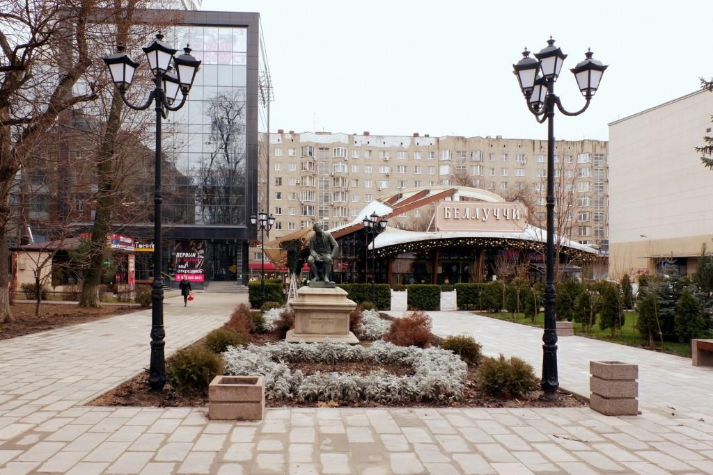 Ростов-на-Дону, путешествие, город зимой, достопримечательности ростов-на-дону, город памятники, достопримечательности ростова, скульптурный памятник, фото города
