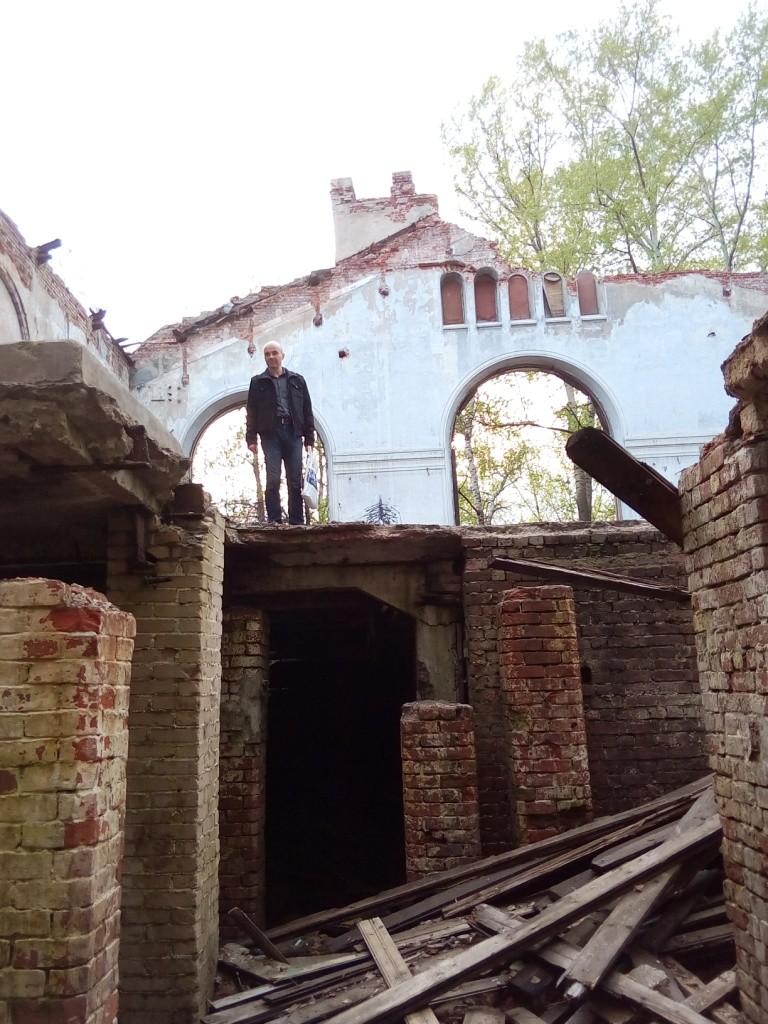 Куйбышевская водокачка, Нижний Новгород, достопримечательности, развалины, необычные места, водонапорная башня, водокачка