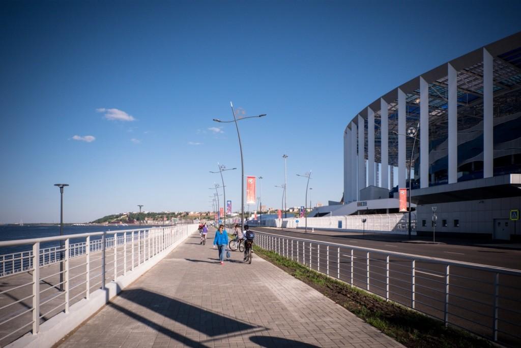 Стрелка, Чемпионат мира по футболу 2018, Нижний Новгород , чмф 2018, fifa 2018, worldcup 2018, футбол, стадион,