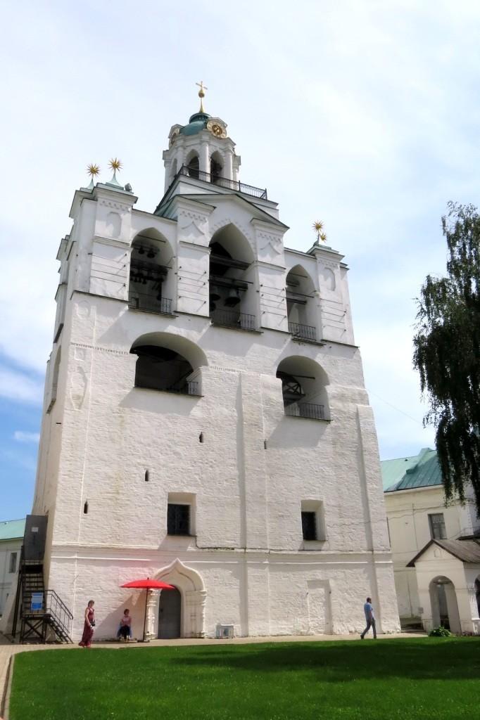 Звонница, Ярославль, Спасо-Преображенский монастырь , Кремль, Спасо-Преображенский собор, Ярославль за один день, достопримечательности