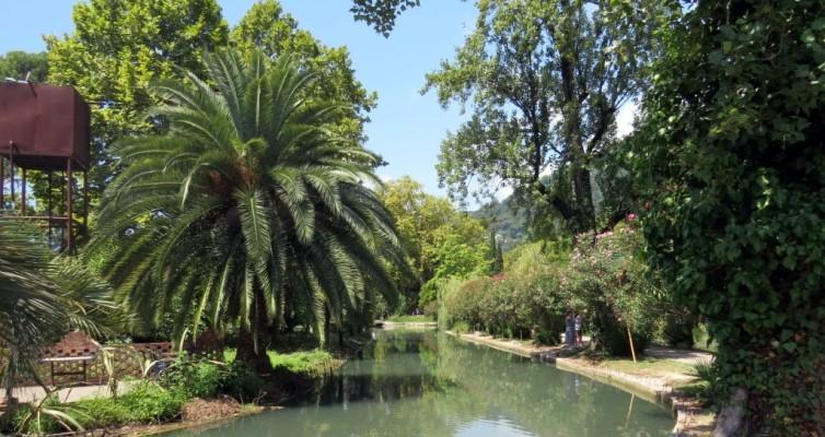 Новый Афон, парк, Абхазия, достопримечательности