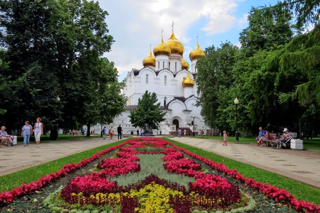Успенский собор, Ярославль, достопримечательности, Ярославль за один день