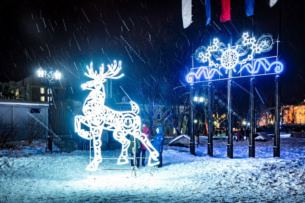 Горьковская ёлка, Нижний Новгород, Новогодний Нижний Новгород, Новый год, новогодние праздники, ёлка в Нижнем Новгороде,